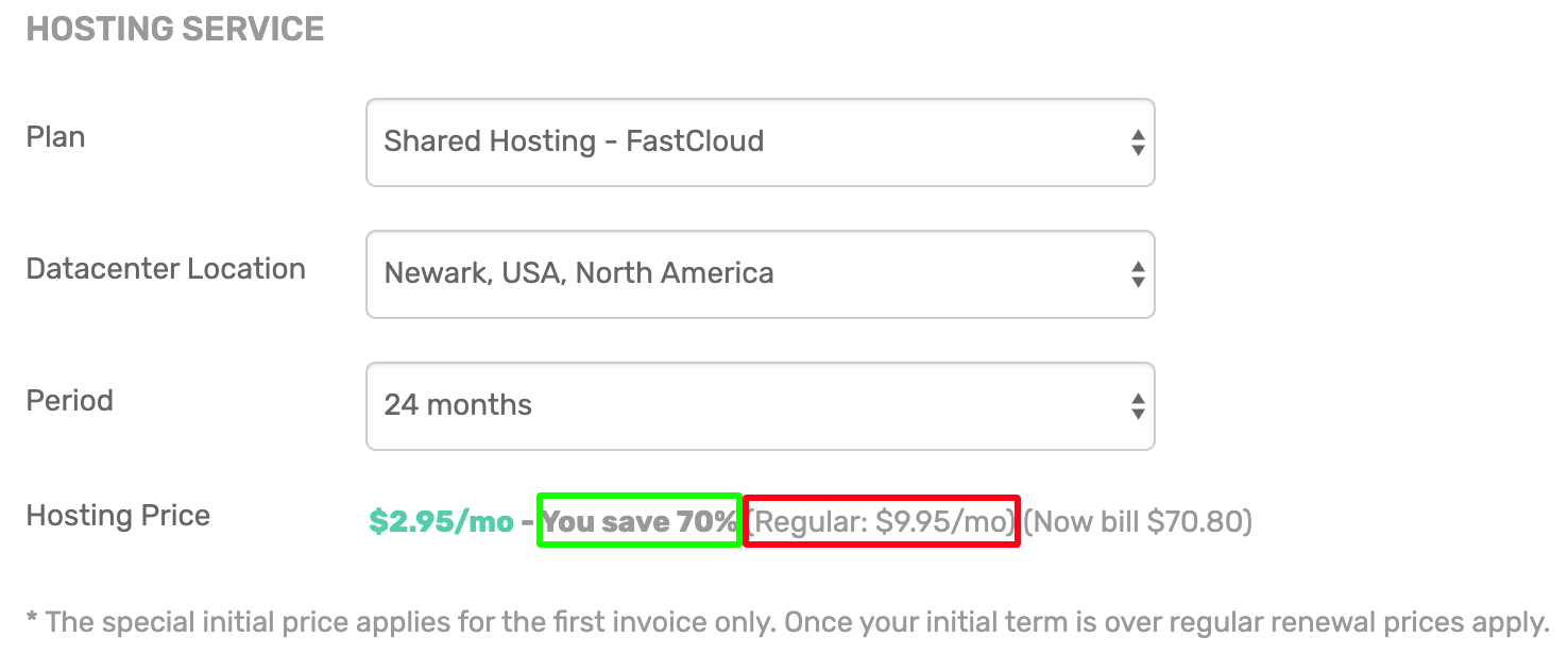 How to Save Money on Renewal FastComet?